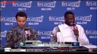 Draymond Green Asks & Answers His Own Question