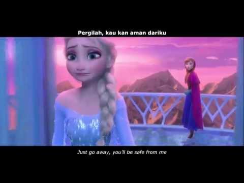 【Indonesian Fandub】Frozen - Elsa's Ice Castle + Untuk Pertama Kalinya (Reprise) (ENG SUB)