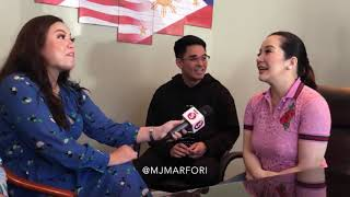 Interview with Kris Aquino and talked about Business Manager Nicko Falcis