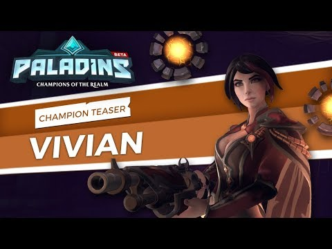 Paladins - Champion Teaser - Vivian, The Cunning