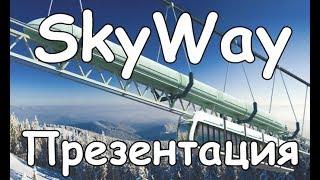 SkyWay - 38 лет в течение 1 часа. Презентация настоящего оффлайн проекта