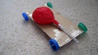 How to Make an Air Powered Balloon Car