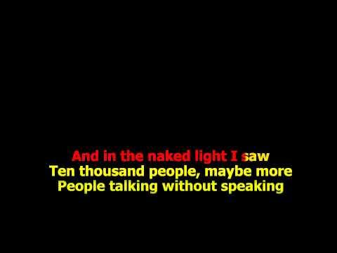The Sound Of Silence - (HD Karaoke) Simon And Garfunkel