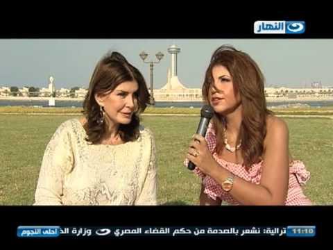 احلى النجوم لقاء مع ميرفت امين قطة الشاشة المصرية