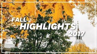 2017 Fall Highlights