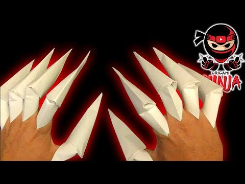 How to make: Origami Claws