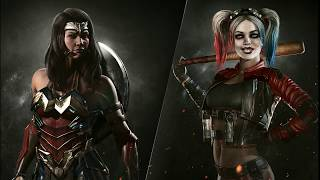 The Watchtower:  Wonder Woman - Harley Quinn