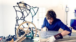 Top Metal Frame Assembly - Marble Machine X #47