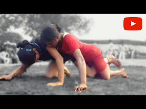 Kushtiwrestling : महिला कुश्ती : Girl wrestler from Guru Chandagi Ram Akhara wins
