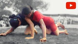 Kushtiwrestling : महिला कुश्ती : Girl wrestler from Guru Chandagi Ram Akhara wins