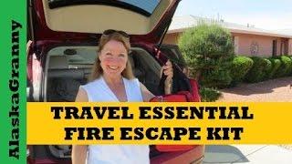 Travel Essential- Fire Mask Escape Kit
