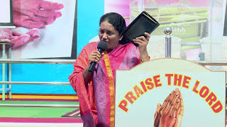 Dr. Jeyarani Andrew Dev- Tamil Christian Message - Bible TV - Blessed among the women