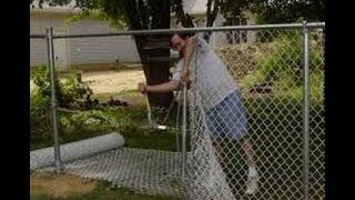 HOW TO INSTALL A CHAIN LINK FENCE (PART 2)
