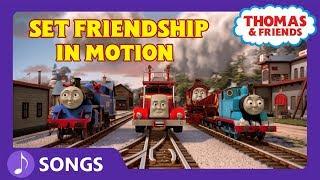 Set Friendship in Motion (Let's Go!) | Karaoke | Thomas & Friends