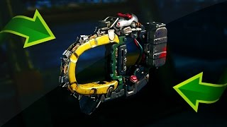 MINI CHAINSAW IN CALL OF DUTY: BLACK OPS 3 (NEW WEAPONS GAMEPLAY BO3)