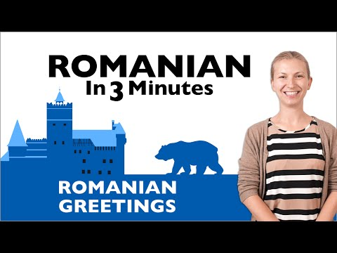 Romanian in Three Minutes - Greetings