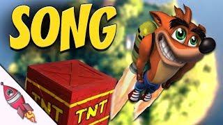 Crash Bandicoot Song | N Sanity (WOAH) | Rockit Gaming