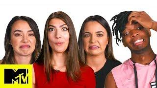 Rachel Levin, Merrell Twins & More Play That Face When   Vidcon MTV News