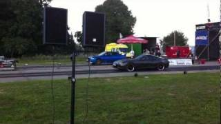 Toyota Supra vs. Subaru Impreza @German Race Wars