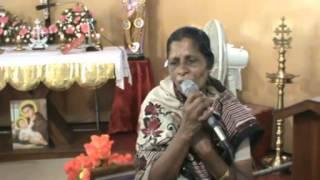 Healing, Alphonsa, Vaipur, Testimony 20131106