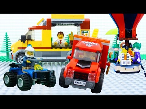 LEGO City Vehicles COMPILATION STOP MOTION LEGO Train Bus Car AND More LEGO By Billy Bricks