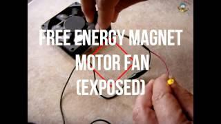 KB STEMS 2016 - Free Energy Magnet Motor Fan (EXPOSED)