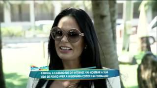 Milionária Cozete Gomes encara um Dia de Pobreza com a youtuber Camilla Uckers