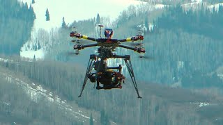 Cine-X Octocopter with MōVI and FS700 - RCTESTFLIGHT