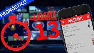 Pronósticos Liga Mx Jornada 13 Apertura 2017 Apuéstate│Predicciones Liga Mx│Progol│Ganagol
