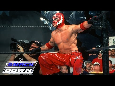 Rey Mysterio makes his WWE debut against Chavo Guerrero SmackDown July 25 2002