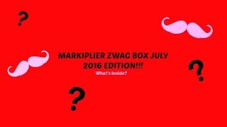 Review: MARKIPLIER ZWAG BOX JULY 2016 EDITION!!!