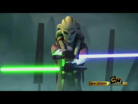 Jedi Master Kit Fisto vs General Grievous