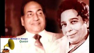 RAFI-SHAMSHAD-JEEVAN SATHI-1950-Milkar Jayen Hum Preet Ke Diwane-[ Rarest Song in H Q Audio ]