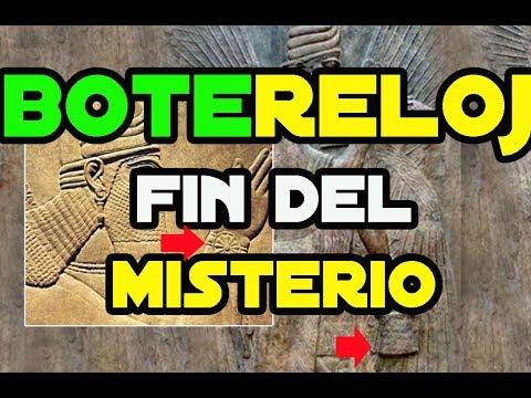Bote, Reloj y Arca anunakis  findelmisterio-Ritual Barcelona 111111