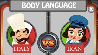 Iranian VS Italian Body language - BEST COMPLETE GESTURE