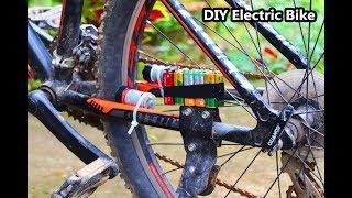 Easy Way to Make Electric Bike   How to Make Electric Bike