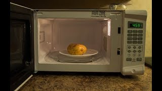 How To Cook Potatoes In Microwave - آموزش پخت سیب زمینی در میکروویو