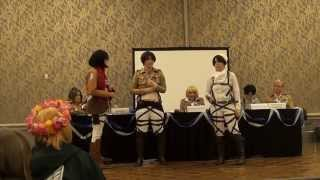 Kumoricon 2015 Attack on Titan A Panel with No Regrets Part 1 of 5