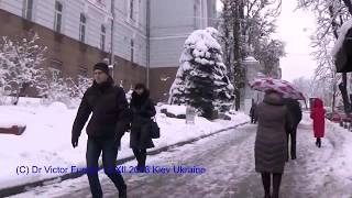 Киев: Заметает Зима, Заметает... Природоведческий Музей...