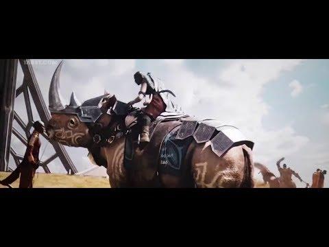 Black panther 2018 / okoye funny rhino licking scene