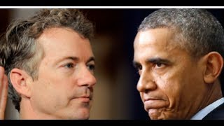 RAND PAUL DELIVERS A FATAL BLOW TO OBAMA!  NOW HE'S CALLING FOR OBAMA TO ANSWER THESE ALLEGATIONS!