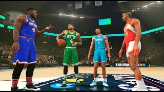 NBA 2K16: The Shortest Dunk Contest of All Time! Webb, Bogues, Robinson, Thomas! PS4