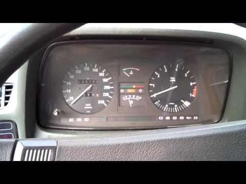 BMW e23 732i sound
