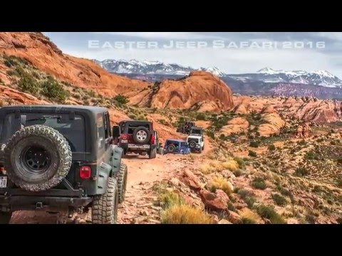 HELL'S REVENGE - MOAB, Utah - ReadyLIFT Trail Day @ Easter Jeep Safari 2016