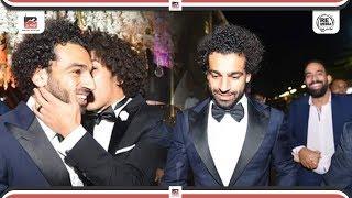 محمد صلاح وتامر حسني ونجوم الاهلي يشعلون حفل زفاف حسين السيد