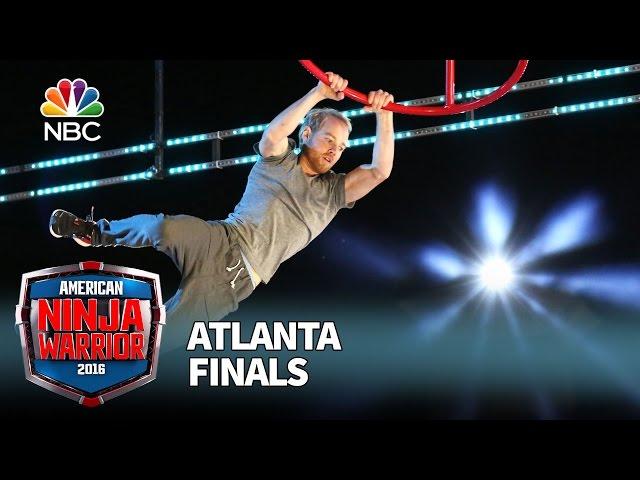 Brett Sims at the Atlanta Finals - American Ninja Warrior 2016