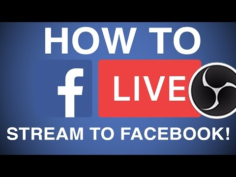How To Stream Live Video To Facebook Page Using Camera Go Live On Facebook
