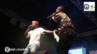 Flowking Stone And Kunta Kinte Full Performance At Close Up Cool Breeze