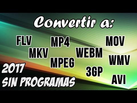 Xxx Mp4 Convertir Cualquier Formato De Video A MP4 WMV MKV FLV AVI MOV 3G2 WEBM Etc Sin Programas 2017 3gp Sex