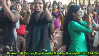 Athena Nursing Students Praise And Worship at DIVINE CALL CENTRE Mulki